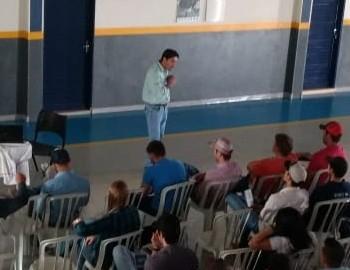 VISITA DOS ALUNOS DO CURSO TÉCNICO EM AGROPECUÁRIA DO CENTRO TECNOLÓGICO PAULA PASCOALE